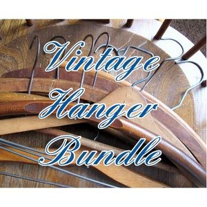 VTG Clothes Hanger Bundle